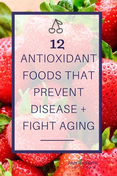 Antioxidants are powerful tools that help keep our bodies healthy. Read this post to learn about antioxidant foods + how you can increase your antioxidant intake. Anti Oxidant Foods, Anti Inflammatory Recipes, Avocado Smoothie, Gut Health, Health And Wellness, White Tea Benefits, High Antioxidant Foods, Foods High In Antioxidants, Benefits Of Berries
