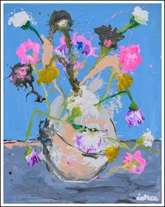 Still Life nr 10 Art Print Abstract Flowers, Abstract Art, Original Art, Original Paintings, Modern Paintings, Flower Canvas, Painting Still Life, Fine Art Paper, Buy Art