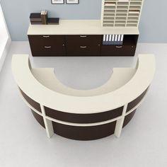 Superbe Semi Circular Desk