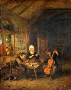 Adriaen van Ostade Village Musicians.