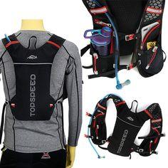 充実の機能性!デザインバックパックが新登場。5L バックパック ランニング マラソン リュック メンズ レディース 軽量タイプ リフレクター 防水 速乾 通気性 防臭