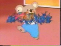 Noozles! The show centered on the adventures of Sandy, a twelve year old girl, a stuffed koala bear named Blinky that came to life when you rubbed your nose with his, and Blinky's sister Pinky (who had the same voice as Angelica from Rugrats)