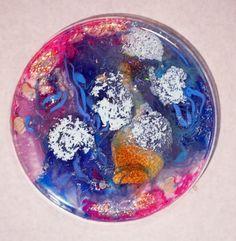 Petri dish art  multicolored abstract art science by JuicyAmoeba
