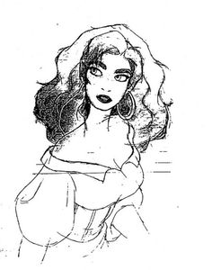 Esmeralda from The Hunchback of Notre Dame. She stood up for what she believed was right and for the weak.