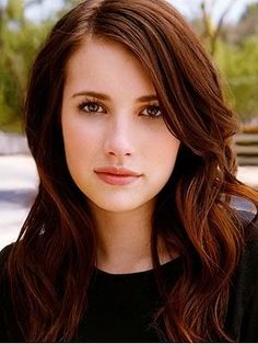 warm dark brown hair. I WANT THIS TO BE MY HAIR COLOR.