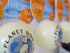 Planet Dog Glow-in-the-Dark Balls