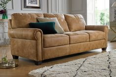 From corner designs to recliner styles, find the perfect leather sofa for your home at Sofology. Pallet Ideas Easy, Living Room Color Schemes, Large Sofa, Corner Designs, Corner Sofa, Fabric Sofa, Sofa Furniture, Room Colors, Leather Sofa