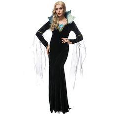 新作 ブラック イブニングドレス 吸血鬼 クイーン