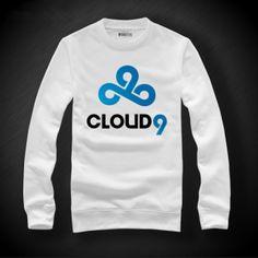 Equipa Cloud9 Dota 2 camisola camisolas tripulação pescoço algodão para homens