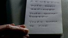 """""""You're gonna be fine."""" - Charlie #fringe"""