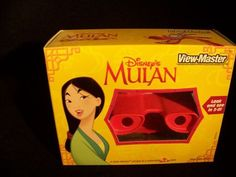 Disney`s Mulan View-Master viewer & 3... for only $39.99