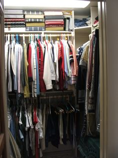 College house closet after.