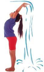 Waterfall Yoga Pose