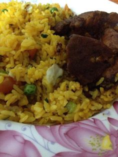 Chicken Fried rice  /Suriname Food