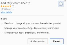 Remove MySearch DS-1: step to step uninstallation guideline – Clean PC Malware