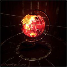 Website: Calabarte.com/ Facebook: Www.facebook.com/calabarte TABLE LAMP VII  U2013 GLOBE The Lamp Is Made From Gourd Brought From Senegal.