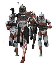 Star Wars: The Clone Wars - Clone Trooper Captain Keeli /  Jedi General Ima-Gun Di