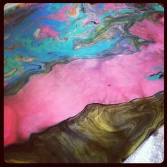 mamascout: {art lab} japanese paper marbling with kids - amazing results!