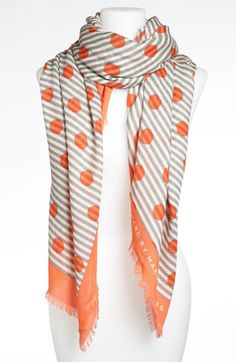 MARC BY MARC JACOBS 'Willa Dot' Wool Scarf available at #Nordstrom