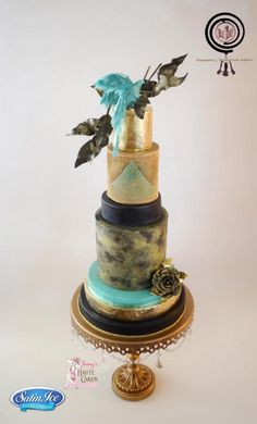 Farewell Downton Abbey Cake Collaboration - Lady Mary by Jenny Kennedy Jenny's Haute Cakes