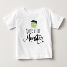 Mommy's Little Monster Baby and Kids Halloween Tee - baby gifts child new born gift idea diy cyo special unique design