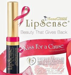 October is Breast Cancer Awareness month. Show your support by sporting bright, beautiful long-lasting pink lips with Kiss for A Cause LipSense. 💕💕💕💕💕💕💕💕💕💕💕💕💕 From October 1-31, 2016: With every Kiss For A Cause shade sold, we will donate $1 of the proceeds to The Make Sense Foundation, which will be forwarded to Breast Cancer research and awareness efforts. Together, we can help towards the goal of finding a cure for this deadly disease. #cancerawarness #lipsense…