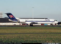 AirUK Fokker 100 (F-28-0100) aircraft picture
