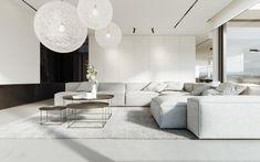 Modern Minimalist Living Room, Minimalist Furniture, Living Room Modern, Interior Design Living Room, Living Room Designs, Living Room Decor, Minimal Living, Living Rooms, Minimalist Interior