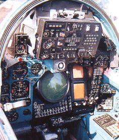 Su-27 Backseat Cockpit