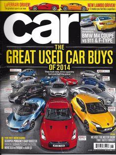 Car auto magazine Great used auto buys BMW Coupe Porsche LaFerrari Subaru Audi