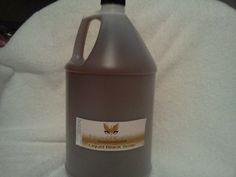 African Black Soap LIQUID*Pure Natural Ingredients 1/2 Gallon 64 oz  #100RawAfricanBlackSoap