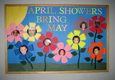 SPRING bulletin board  Definitely will be making this with my littles, what a great idea!!!!!