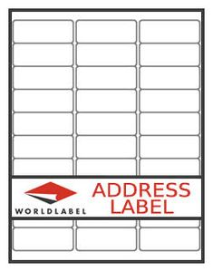 Free blank label template download wl 25 template in word c return address label our wl 25 same size as avery 5167 saigontimesfo