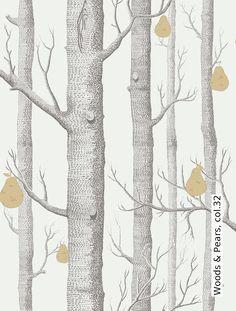 Tapete: Woods & Pears, col.32 - TapetenAgentur