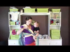 PAXbaby Poppins Hip Carry with a Woven Wrap