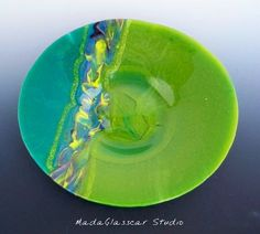 The Wave Bowl by MadaGlasscarStudio on Etsy, $225.00