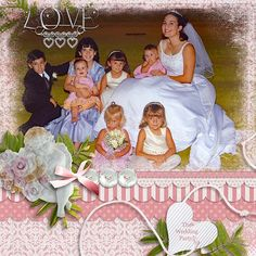 This is from my youngest http://gallery.gingerscraps.net/uploadphoto.php?cat=500daughter's wedding.   She was such a beautiful bride!  I used CUPIDS ARROW which is part of Seatrout Scraps Mini kit grab bag found here:  http://store.gingerscraps.net/Mini-Kit-5-iNSD-Grab-Bag.html  and a template from her May Memory Makers template grab bag, found here:  http://store.gingerscraps.net/May-Memory-Makers-5-Template-Grab-Bag.html