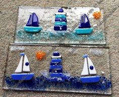 Lola's Little Glass Studio - Beach Huts, Boats, lighthouses