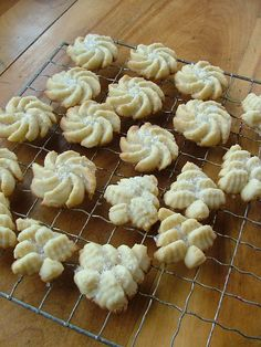 Almond Butter Cookies for Cookie press