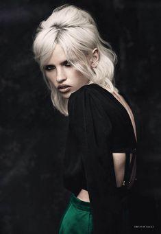 Fashion Gone Rogue.  Photographer :: Matthew Webb.  Model :: Anja.  Makeup:: Charlie Kielty.  Hair :: Alan White.