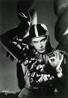 Serge Lifar, ballet dancer, 1920s