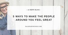 """5 Ways To Make The People Around You Feel Great --- We all have a few things in common. We want to be liked, loved, and happy. Some people make us feel valued. Some people make us feel special. But others can make us feel discouraged, unimportant, and small. As the saying goes, """"how you make others f… Read More Here http://dalepartridge.com/make-others-feel-says-lot/"""