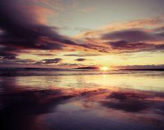 "sunset on Keel strand Achill Island, Ireland"" by Ciaran Duignan"