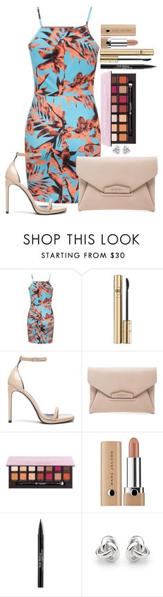 """Untitled #1507"" by fabianarveloc on Polyvore featuring Miss Selfridge, D&G, Yves Saint Laurent, Givenchy, Anastasia Beverly Hills, Marc Jacobs, Trish McEvoy and Georgini"