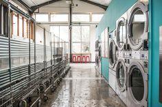 Main laundry area