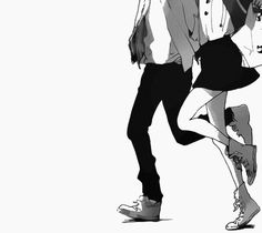 Let's run together with your hand in mine. I like it when you're beside me. // Manga: Stand Up! (YAMAKAWA Aiji)