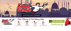 Awesome Food delivery service needs illustrated fresh facebook cover page! by Edwmar