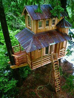 Tree house on a grand scale ***Repinned by Normoe, the Backyard Guy (#1 backyardguy on Earth) Follow us on; http://twitter.com/backyardguy