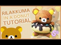 Rilakkuma in a Donut Polymer Clay Tutorial - YouTube