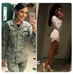 50 Beautiful Army Women With & Without Uniform Looking Stunning #army #womensfashion #clothing Julia Kelly, Mädchen In Uniform, Femmes Les Plus Sexy, Female Soldier, Army Soldier, Military Girl, Military Women, Girls Uniforms, Badass Women